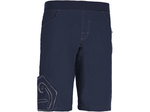 E9 Pentagò Shorts Heren, blauw